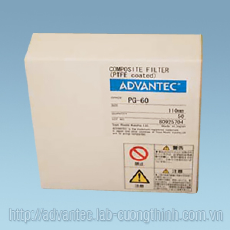 Filters PG-60 Advantec