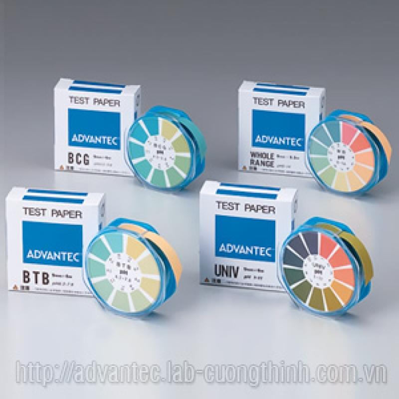 Giấy kiểm tra pH Advantec